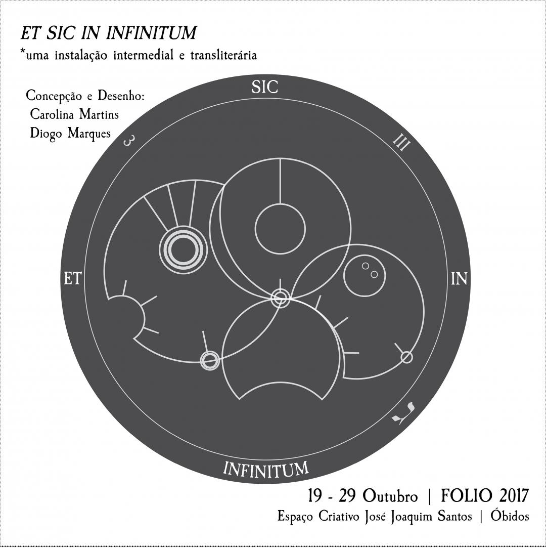 ET SIC IN INFINITUM: uma exposição intermedial e transliterária